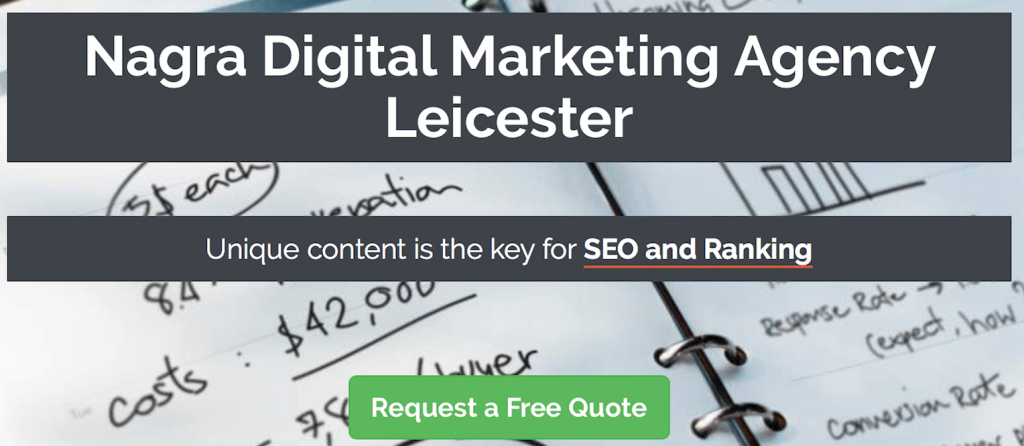Digital marketing agency Leicester